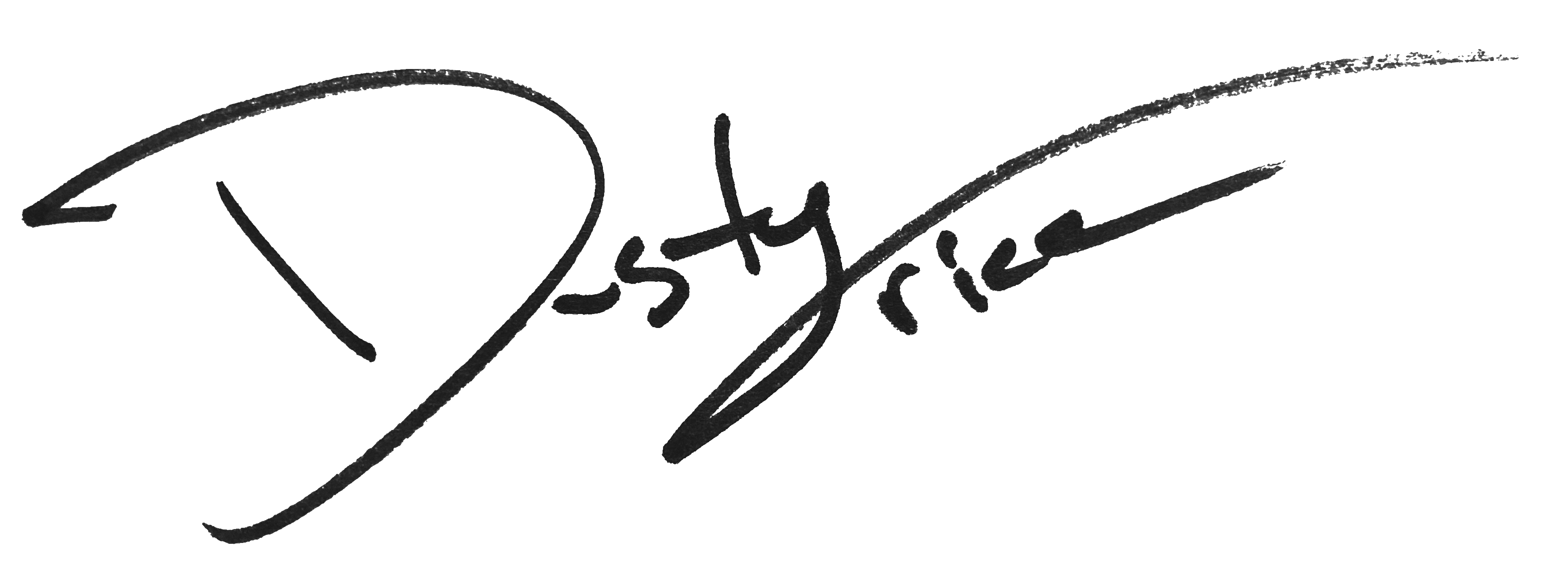 Dusty Trice Signature
